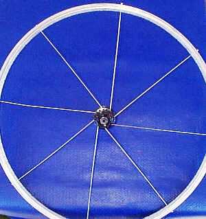 Bicycle repair building bicycle wheels for Making bicycle wheels